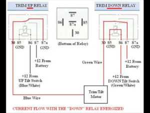 Troubleshooting, Bypassing, & Wiring SPDT Tilt Trim Relay  YouTube