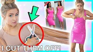 Trying On Very EXTRA Clothing From Wish and Ebay ! Success Or Disaster ?!