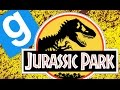 JURASSIC PARK ESCAPE!   Gmod Sandbox Funny Moments