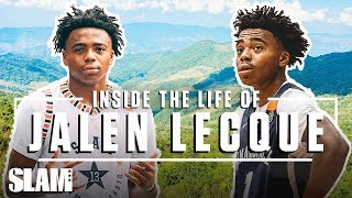 JALEN LECQUE: Inside the Life of Baby Westbrook 😈 | SLAM Day in The Life