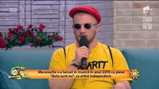 Premiera Macanache - Eu dau graffiti ! Neatza cu Razvan si Dani !!!