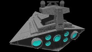 Minecraft Imperial Stardestroyer