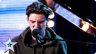 Harry Gardner breaks hearts with song for his nan | Auditions Week 4 | Britain's Got Talent 2017