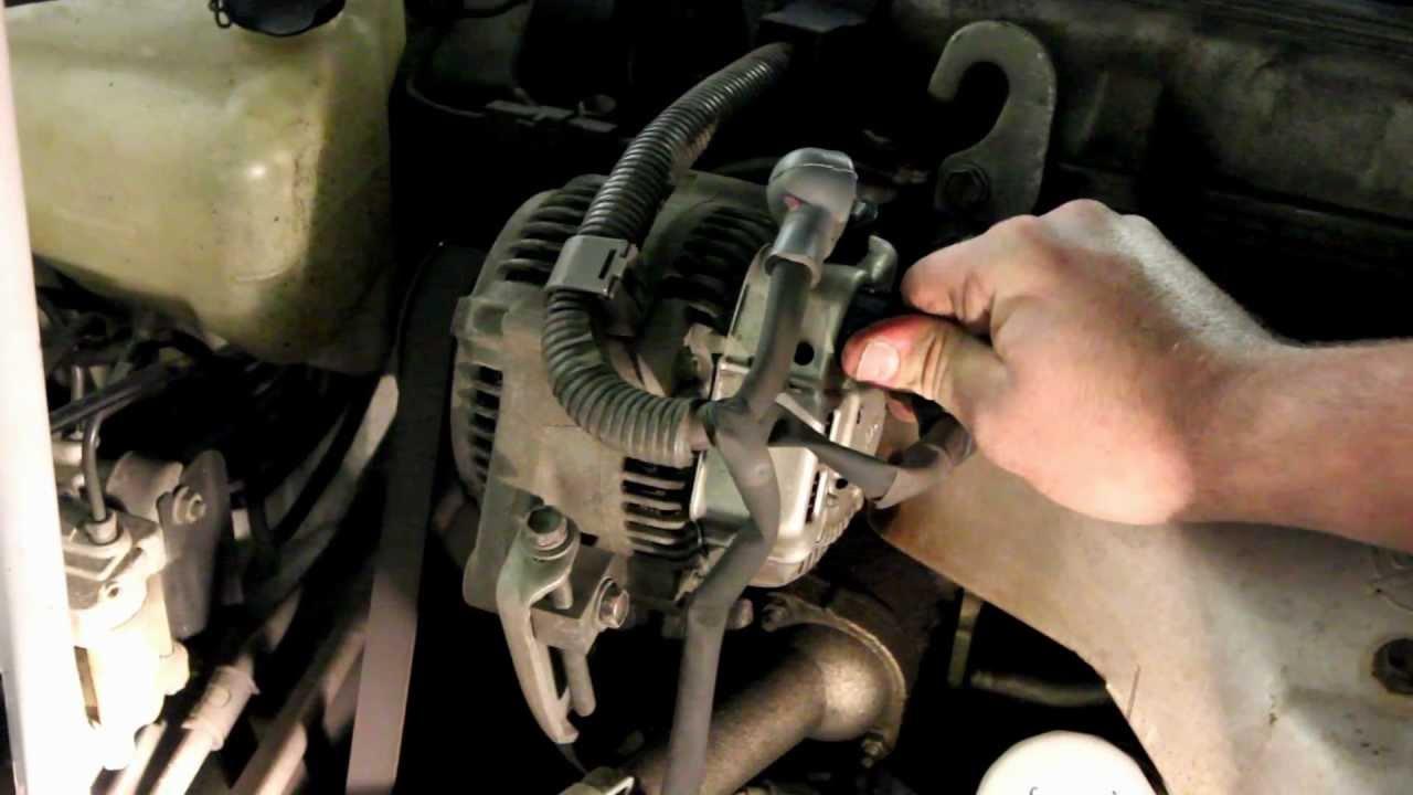 2009 toyota corolla alternator wiring diagram 2004 4runner radio replacement - youtube