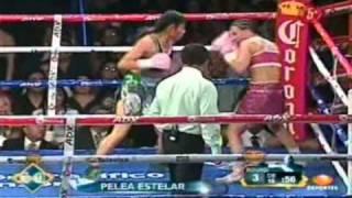 Ana Maria ″Guerrera Azteca″ Torres Vs Hollie ″Sexy″ Dunaway Round 3