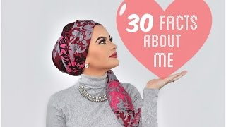30 FACTS ABOUT ME- Omaya Zein