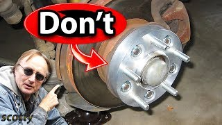 Why Not to Put Wheel Spacers on Your Car