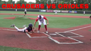 Crusaders Baseball Club 16U vs Staten Island Orioles at Diamond Nation 16U Blue Chip tournament