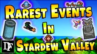 Ultra Rare Events! The Rarest Events In Stardew Valley