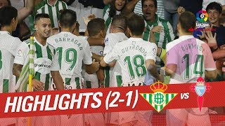 Resumen de Real Betis vs RC Celta (2-1)