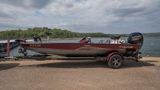Vexus 1980 AVX Bassboat Walkthrough with Russell Marine Products,.
