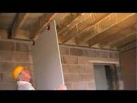 How to Fit Plasterboard to Ceilings. The Easy Way To Hang ...