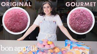 Pastry Chef Attempts to Make Gourmet Sno Balls | Gourmet Makes | Bon Appétit
