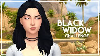 NEW LET'S PLAY! // The Sims 4: Black Widow Challenge #1
