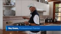 How to Paint Laminate Cupboards - YouTube