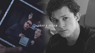 tony stark & peter parker | ashes