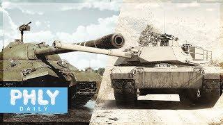 $1200 Russian Pixel Tank aka IS-7 VS Propaganda M1 ABRAMS TOP TIER (War Thunder Tanks Gameplay)