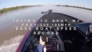 Bass Boat Veloster 400R 102mph ACCIDENT