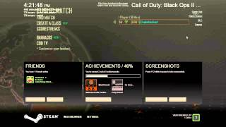 I Prestiged! And, how to change your name color in Black Ops 2