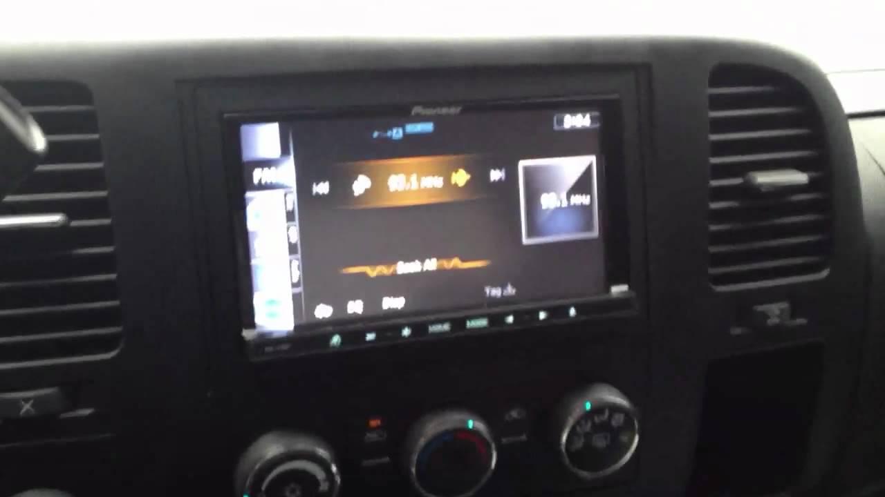 2013 Gmc Sierra Stereo Wiring Chevy Silverado 2008 With Pioneer Avic Z130bt Youtube