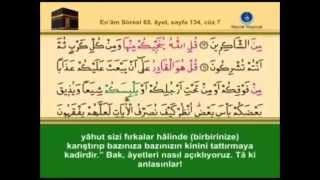 6- En'âm Sûresi - Takipli ve Mealli - İshak Danış