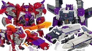 Transformers Generations Titans Return 3-step transformation Alpha Trion VS Octone! #DuDuPopTOY