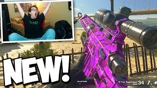 I GOT THE NEW SNIPER AND HIT TRICKSHOTS WITH IT! (NEW INTERVENTION ON MWR *WEAPONS DLC*)
