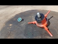 Spinning Top of Death VS. Beyblade toy