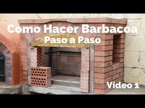 CONSTRUCCIN DE BARBACOA 1  YouTube