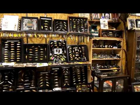 hunting and fishing man cave  YouTube