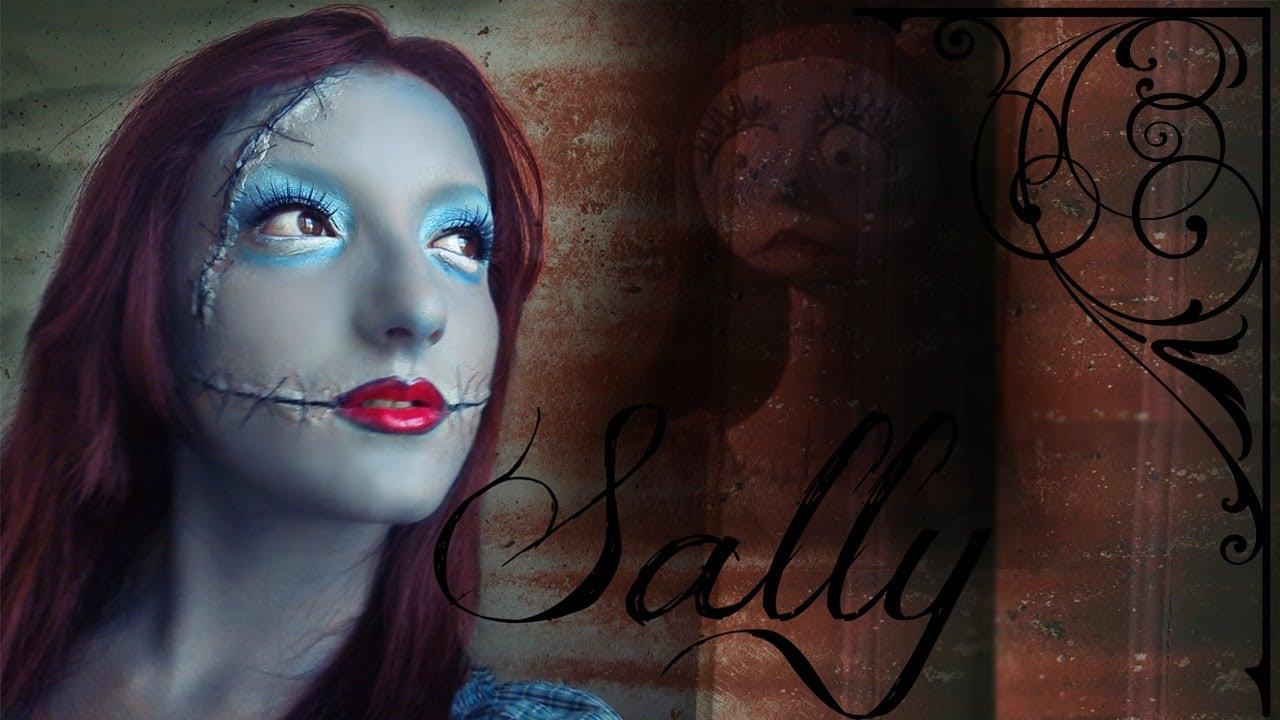 sally from nightmare before christmas makeup tutorials