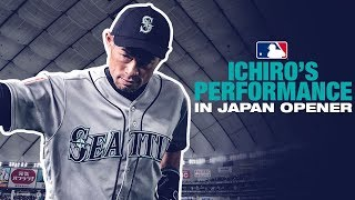 Ichiro Feels the Love During Japan Opener