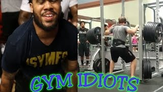 Gym Idiots - CT Fletcher Deadlift Party & 1035-Lb. ″Squat″