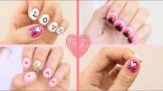2015 valentine's day nail art