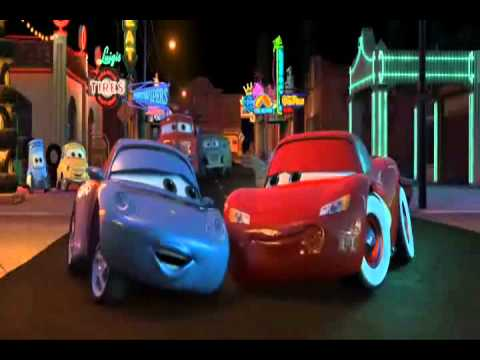 """Cars Lightning McQueen And Sally Carrera """"When You're"""