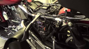 How to get to the fuse panel on a Harley Davidson Electra Glide Motorcycle  YouTube