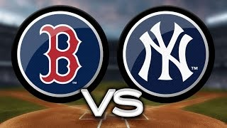 MLB: New York Yankees vs Boston RedSox Game 1
