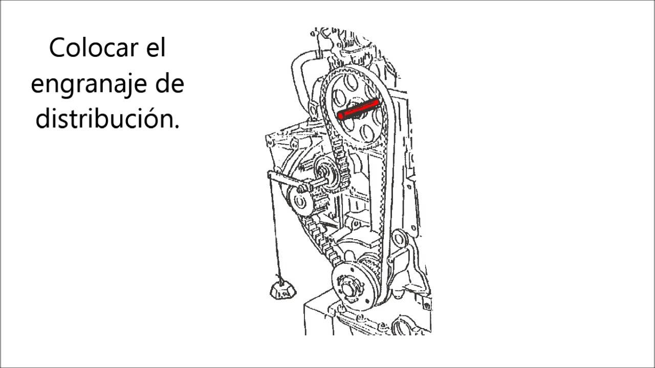 Manual Diagrama De La Posicion De La Cadena De Tiempo De