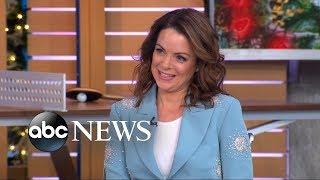 Kimberly Williams-Paisley said her husband Brad Paisley ″stalked″ her
