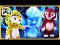 Тиг и Лео 12 * Задания Вьюжки и Завирухи - Приключения друзей в Зимней сказке * мультик игра