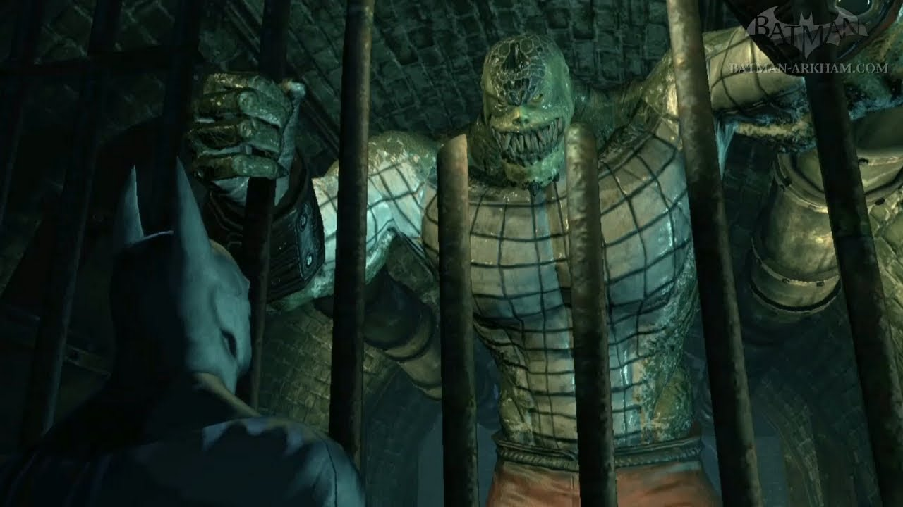 Batman Arkham City  Easter Egg 6  Killer Croc  YouTube