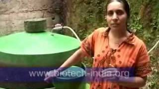 BIOTECH INDIA domestic portable Biogas plant - biotech-india.org