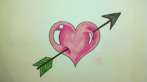 draw heart easy drawings drawing hearts boyfriend simple arrow cool pretty girlfriend wallpapers learn cliparts designs drawingartpedia getdrawings practice sketches