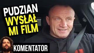 Dostałem Film od Mariusz Pudzian Pudzianowski - Czyli Podwójne Standardy Mediów - Analiza Komentator
