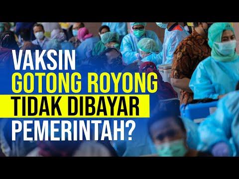 Vaksin Gotong Royong Tidak Dibayar Pemerintah?