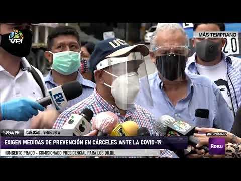 Caracas - Exigen medidas de prevención en cárceles ante la Covid-19- Vpitv