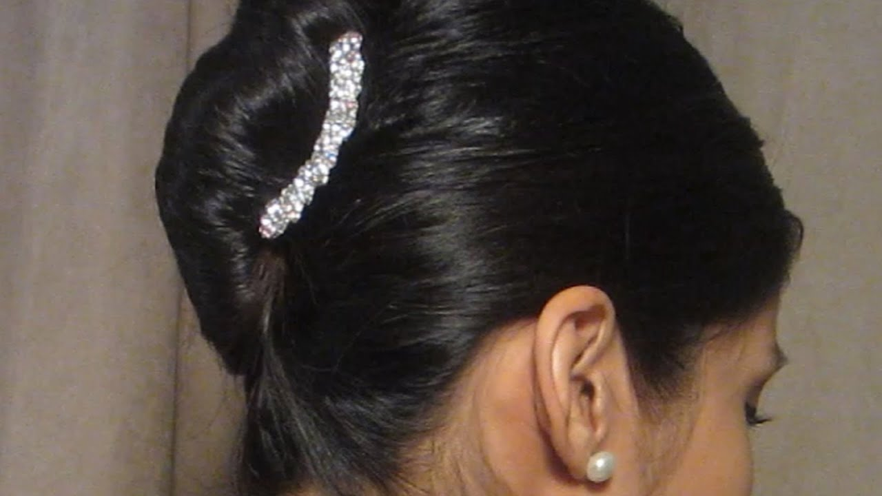 Easy French Twist Hairstyle YouTube