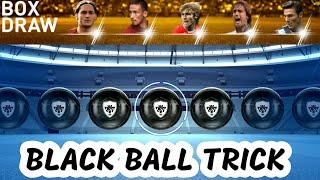 Legends Italian Clubs Box Draw BLACK BALL TRICK /PES 2019