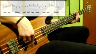 Michael Jackson - Off The Wall (Bass Cover) (Play Along Tabs In )