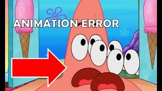Spongebob Animation Errors That Slipped Through Editing 5